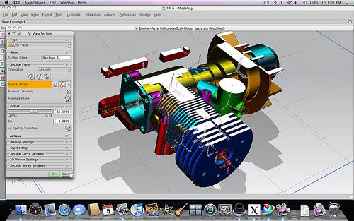 Design faster and more efficiently with NX