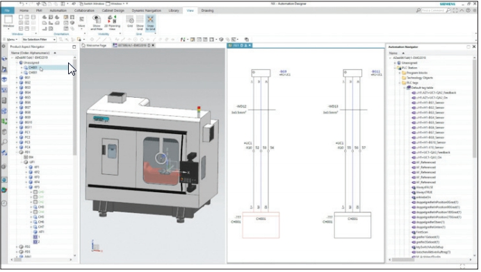 NX Industrial Electrical Design